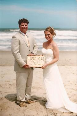 Michelle-Andy-My-OBX-Weding-Minister